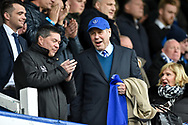 Portsmouth Chairman, Michael Eisner during the EFL Sky Bet League 1 match between Portsmouth and Northampton Town at Fratton Park, Portsmouth, England on 30 December 2017. Photo by Adam Rivers.