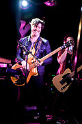 Jared Hornbeek, Bass Guitar for The Unlikely Candidates at The Moroccan Lounge, Los Angeles, California - March 7th, 2020