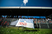 September 3-5, 2015 - Italian Grand Prix at Monza: Save Monza sign