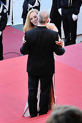 Uma Thurman and Thierry Fremaux arriving at Les Fantomes d'Ismael screening and opening ceremony held at the Palais Des Festivals in Cannes, France on May 17, 2017, as part of the 70th Cannes Film Festival. Photo by Aurore Marechal/ABACAPRESS.COM