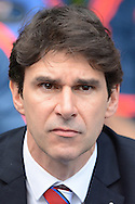 Middlesbrough Manager Aitor Karanka during the Sky Bet Championship match between Reading and Middlesbrough at the Madejski Stadium, Reading, England on 3 October 2015. Photo by Alan Franklin.