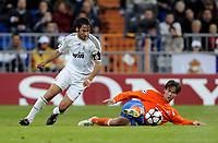 Reals Raul Gonzalez gegen Dusan Djuric am Boden. © Melanie Duchene/EQ Images