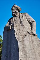 Russie, Moscou, Place de la Revolution, statue de Karl Marx // Russia, Moscow, Revolution Square, Karl Marx statue