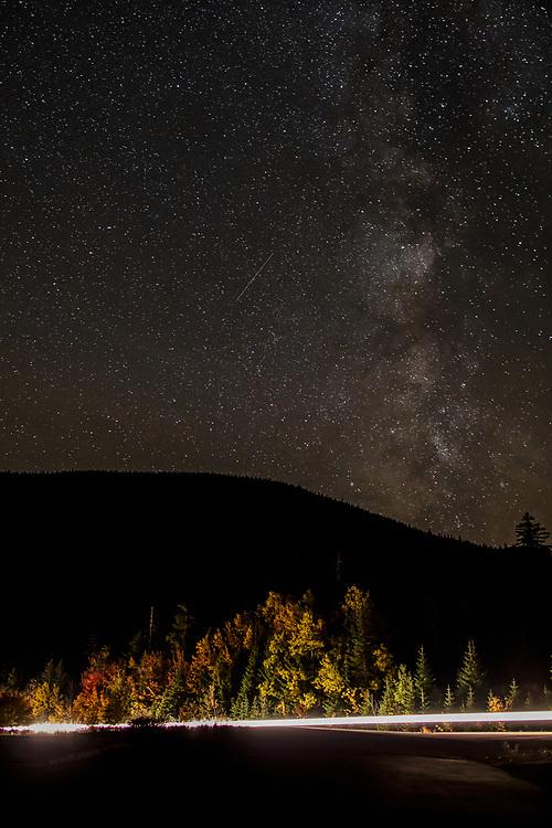 Autumn trip to New Hampshires White Mountains.