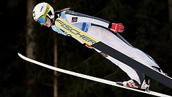 February 7, 2019 - Ljubno, Savinjska, Slovenia - Ksenia Kablukova of Russia competes on qualification day of the FIS Ski Jumping World Cup Ladies Ljubno on February 7, 2019 in Ljubno, Slovenia. (Credit Image: © Rok Rakun/Pacific Press via ZUMA Wire)