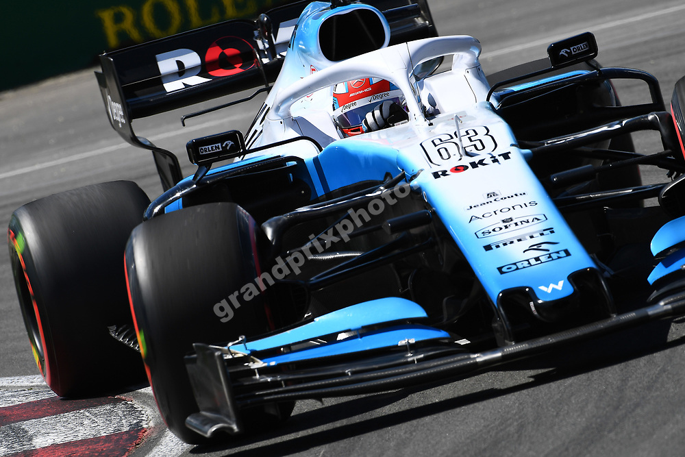George Russell (Willims-Mercedes) during practice for the 2019 Canadian Grand Prix in Montreal. Photo: Grand Prix Photo