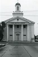 1978 First Baptist Church at Selma Ave. & Las Palmas Ave.