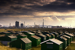 July 21, 2019 - Small Buildings And Cityscape, Teesside, England (Credit Image: © John Short/Design Pics via ZUMA Wire)