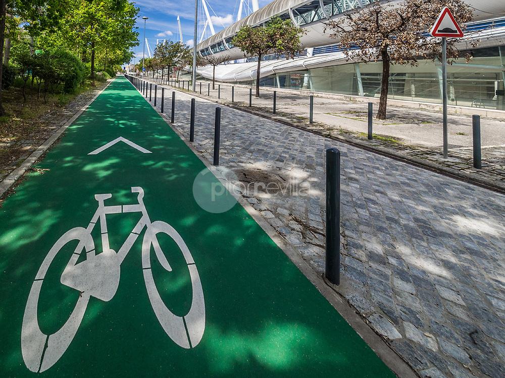 Carril Bici, Parque de las Naciones, Lisboa ©Javier Abad / PILAR REVILLA