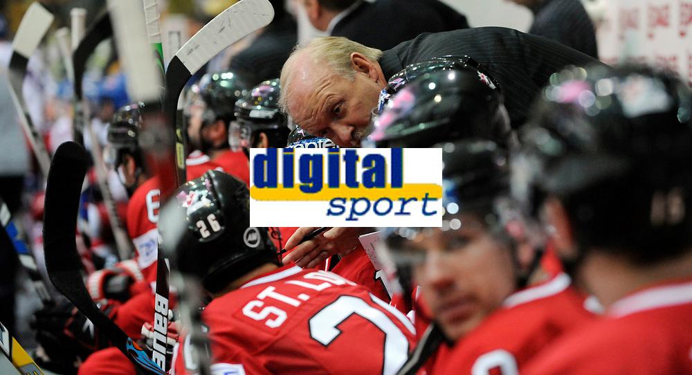 Kanadas Trainer Lindy Ruff. © Valeriano Di Domenico/EQ Images