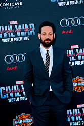 """Paul Rudd 04/12/2016 World Premiere of Marvel's """"Captain America: Civil War"""" held at Dolby Theater in Hollywood, CA. EXPA Pictures © 2016, PhotoCredit: EXPA/ Photoshot/ Albert L. Ortega<br /> <br /> *****ATTENTION - for AUT, SLO, CRO, SRB, BIH, MAZ, SUI only*****"""
