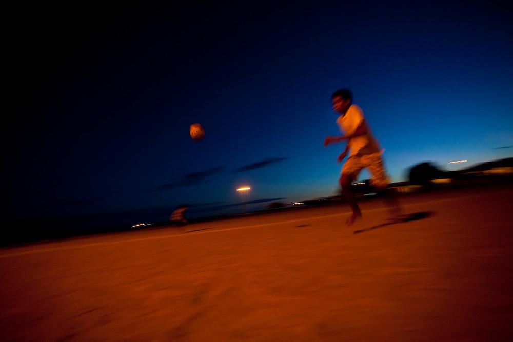 Remanso_BA, Brasil...Campo de futebol em Remanso, Bahia...The soccer field in Remanso, Bahia...Foto: LEO DRUMOND / NITRO