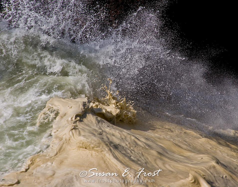 Wave action, Yachats, Oregon