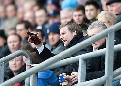 Steven Pressley, Falkirk manager..Falkirk 1 v 1 Partick Thistle, 10/3/2012..©Michael Schofield.