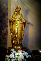 """Luminous Madonna - Santa Maria Maggiore in Assisi""...<br />