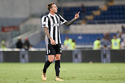 August 13, 2017 - Rome, Italy - Federico Bernardeschi of Juventus during the Italian Supercup Final match between Juventus and Lazio at Stadio Olimpico, Rome, Italy on 13 August 2017. (Credit Image: © Giuseppe Maffia/NurPhoto via ZUMA Press)
