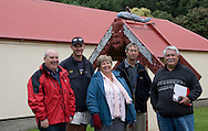 Chris Torrie, Richard Scholefield, Ingrid Collins, James Brownlie, Stan Pardoe. Pakarae/Whangara B5 Partnership, SH 35, Gisborne. The partnership is a finalist in this year's Ahuwhenua Trophy BNZ Maori Excellence in Farming Awards. Photo: John Cowpland<br /> <br /> For more info: <br /> <br /> Allison Webber<br /> Media Consultant<br /> Phone: 04 905 8594<br /> Mobile: 021 465 678<br /> Email: alliewebber@paradise.net.nz