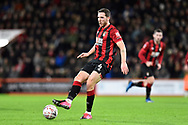 Dan Gosling (4) of AFC Bournemouth during the The FA Cup match between Bournemouth and Arsenal at the Vitality Stadium, Bournemouth, England on 27 January 2020.