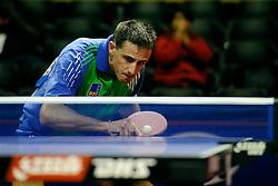 09-05-2011 TAFELTENNIS: WORLD TABLE TENNIS CHAMPIONSHIPS: ROTTERDAM<br /> Sas Lasan SLO<br /> ©2011-FotoHoogendoorn.nl
