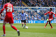 Sheffield Wednesday midfielder Barry Bannan (41) pushes forward during the Sky Bet Championship match between Sheffield Wednesday and Cardiff City at Hillsborough, Sheffield, England on 30 April 2016. Photo by Phil Duncan.
