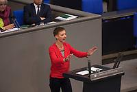 DEU, Deutschland, Germany, Berlin, 07.07.2016: Halina Wawzyniak (DIE LINKE) bei einer Rede im Deutschen Bundestag.
