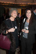 PAT WOOD; LOUISE COOPER, Natwest Everywoman awards reception. The Dorchester Hotel. London. 5 December 2012.