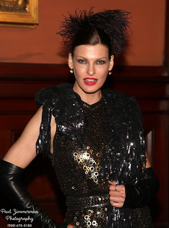 NEW YORK, NY - MARCH 17:  Linda Evangelista attends the Lycee Francais de New York 2012 gala at the Park Avenue Armory on March 17, 2012 in New York City.  (Photo by Paul Zimmerman/WireImage)