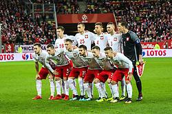 November 13, 2017 - Gdansk, Poland - Poland's team poses before the International Friendly match between Poland and Mexico at Energa Stadium in Gdansk, Poland on November 13, 2017. (Credit Image: © Foto Olimpik/NurPhoto via ZUMA Press)
