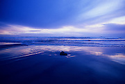 Image of Roads End Beach at Lincoln City, Oregon, Pacific Northwest by Randy Wells