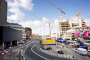 Overzicht van de werkzaamheden rond Utrecht Centraal.<br /> <br /> Constructions near Utrecht Central Station.