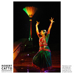 Diwali Indian Festival of Lights, Civic Square, Wellington New Zealand.
