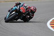 #20 Fabio Quatararo, French: Petronas Yamaha SRT during the HJC Helmets Motorrad Grand Prix Deutschland at Hohenstein-Ernstthal, Chemnitz, Saxony, Germany on 5 July 2019.