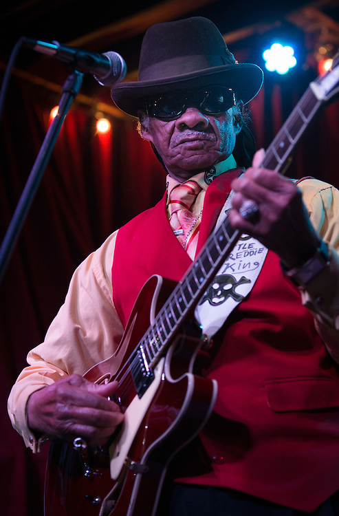 Little Freddie King Performing at D.B.A. on Frenchman Street in New Orleans