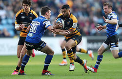 Wasps Lima Sopoaga during the Heineken European Champions Cup match at the Ricoh Arena, Coventry.