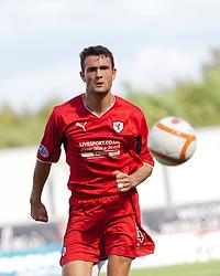 Raith Rover's Laurie Ellis..Falkirk v Raith Rovers, 18/8/2012..