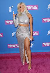 August 21, 2018 - New York City, New York, USA - 8/20/18.Bebe Rexha at the 2018 MTV Video Music Awards at Radio City Music Hall in New York City. (Credit Image: © Starmax/Newscom via ZUMA Press)