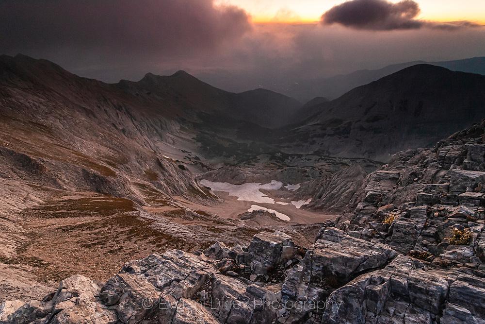 Rock mountain valley