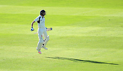 John Simpson of Middlesex celebrates victory.  - Mandatory by-line: Alex Davidson/JMP - 13/07/2016 - CRICKET - Cooper Associates County Ground - Taunton, United Kingdom - Somerset v Middlesex - Day 4 - Specsavers County Championship Division One
