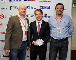Man of the Match presentation - Photo mandatory by-line: Dougie Allward/JMP - Mobile: 07966 386802 - 11/10/2014 - SPORT - Football - Bristol - Ashton Gate - Bristol City v Chesterfield - Sky Bet League One