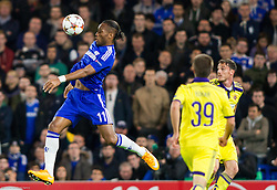 Didier Drogba of Chelsea during football match between Chelsea FC and NK Maribor, SLO in Group G of Group Stage of UEFA Champions League 2014/15, on October 21, 2014 in Stamford Bridge Stadium, London, Great Britain. Photo by Vid Ponikvar / Sportida.com