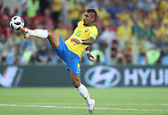 Paulinho of Brazil scores a goal during the 2018 FIFA World Cup Russia, Group E football match between Erbia and Brazil on June 27, 2018 at Spartak Stadium in Moscow, Russia - Photo Tarso Sarraf / FramePhoto / ProSportsImages / DPPI