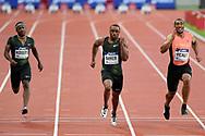 Jimmy Vicaut competes in men 100m during the Meeting de Paris 2018, Diamond League, at Charlety Stadium, in Paris, France, on June 30, 2018 - Photo Philippe Millereau / KMSP / ProSportsImages / DPPI
