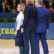 NLD/Amsterdam/20190125- Jumping Amsterdam 2019, prijsreiking oa door Margarita de Bourbon de Parme
