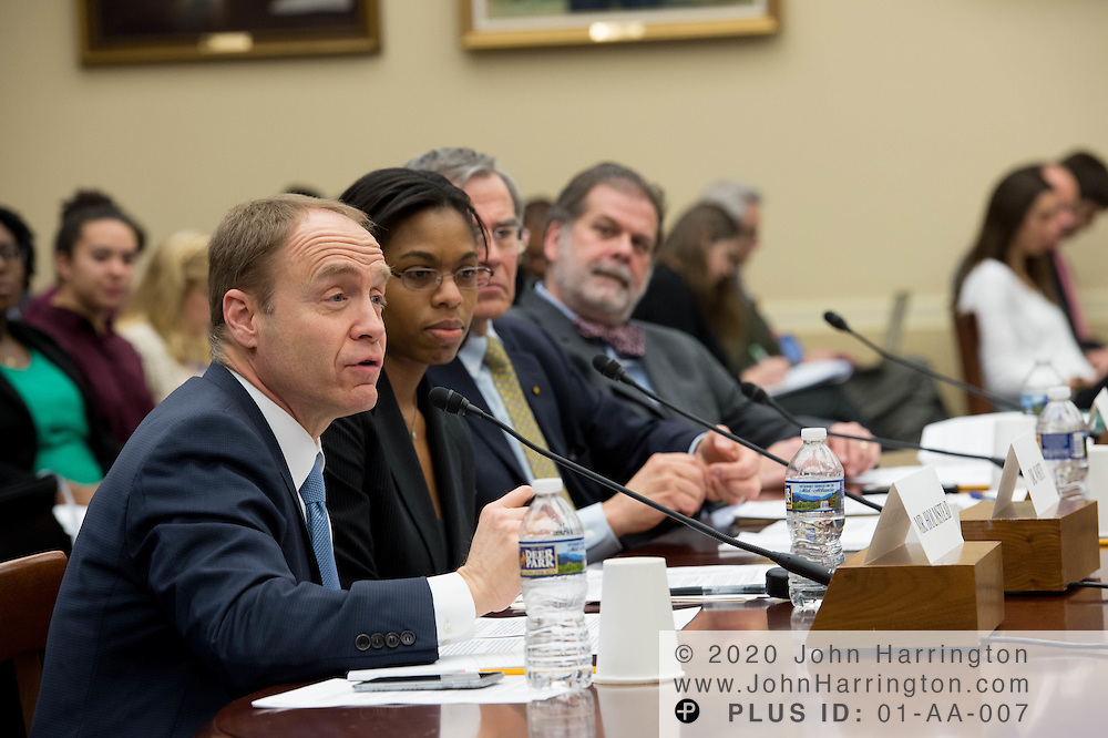 """The Honorable Jeffrey R. Holmstead, Partner, Bracewell LLP testifies before the House Committee on Science, Space, & Technology, entitled """"Make EPA Great Again"""", Tuesday February 7, 2017 on Capitol Hill in Washington, DC."""