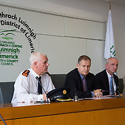 14.11.2016          <br /> Major winter safety and wellbeing campaign launched by Limericks Public Services.<br /> <br /> Pictured at the launch were, Chief Supt. David Sheahan, Conn Murray, CEO Limerick City and County Council, Bernard Gloster, Chief Officer HSE Midwest and Colette Cowan, CEO UHL. <br /> <br /> Limerick City and County Council, the HSE and An Garda Siochana working together. Picture: Alan Place