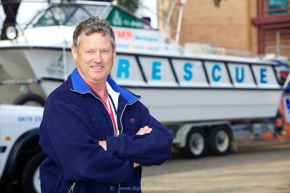 Mornington Volunteer Marine Rescue  , Life member Mick Matthews