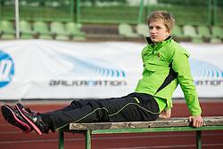"Tina Sutej of Slovenia during ""Balkanation 2014"", athletic tournament of Balkan Region, on September 20, 2014 in Stadium ZAK, Ljubljana, Slovenia. Photo by Vid Ponikvar  / Sportida.com"