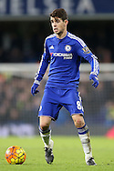 Oscar of Chelsea in action. Barclays Premier league match, Chelsea v Everton at Stamford Bridge in London on Saturday 16th January 2016.<br /> pic by John Patrick Fletcher, Andrew Orchard sports photography.