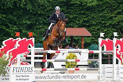 09, Youngster-Springprfg. Kl. M**,Ehlersdorf, Reitanlage Jörg Naeve, 29.06. - 01.07.2021, Thomas Voss (GER), Calciano,,