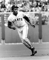 San Francisco Giants slugger Bobby Bonds (1971 photo/Ron Riesterer)